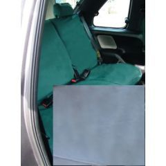 DA2813GREY - Rear Freelander 1 Seat Covers (60/40 Split Without Armrest) In Grey - Fully Washable, Waterproof and Well-Fitted