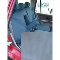 DA2814GREY - Rear Freelander 1 Seat Covers (60/40 Split With Armrest) In Grey - Fully Washable, Waterproof and Well-Fitted