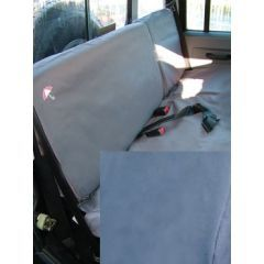 DA2816BLUE - Defender Second Row Seat Covers In Blue (Up To 2007)