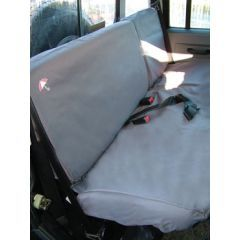 DA2816GREY - Defender Second Row Seat Covers In Grey (Up To 2007)
