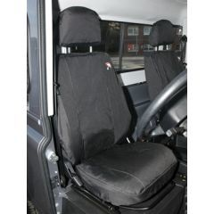 DA2818BLACK - Defender Front Seat Covers in Black - 2007 Onwards