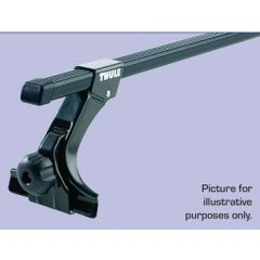 DA2991 - Thule Roof Bars With Feet - Gutter Mounted - For Discovery 2