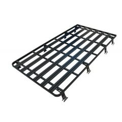 DA3070 - Defender 110 Full Roof Rack In Black - Britpart Expedition - 2.75m long x 1.50m wide (Made in UK)