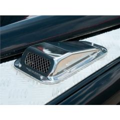 DA4000SS - Stainless Steel LH Air Scoop for Defender - Wing Top Air Intake