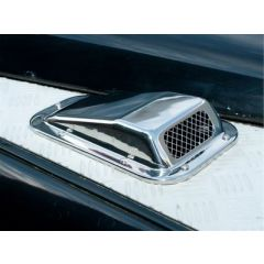 DA4001SS - Stainless Steel RH Air Scoop for Defender - Wing Top Air Intake