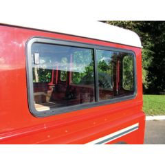DA4033BRONZE - Deluxe Sliding Window Kits - With Bronze Tinted Glass - For Land Rover Defender and Series