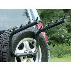 DA4119 - Spare Wheel Mounted Bike Rack - For 4 Bikes - Will Fit Discovery from 1998-2004