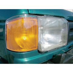 DA4172 - Acrylic Headlamp Protectors -  for Discovery 1 300TDI From 1995 - By Birtpart