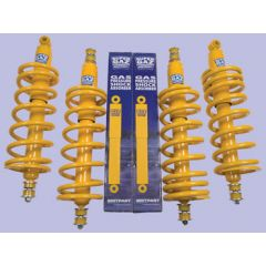 DA4284 - Heavy Duty / Standard Height Super Gaz Shock And Spring Kit - For Defender 90, Discovery 1 and Range Rover Classic