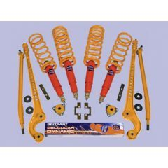 """DA4366 - Medium Duty / 5"""" Lift Cellular Dynamic Full Suspension Kit - Fits Defender 90 from 1994, Discovery 1 and Range Rover Classic from 1986"""