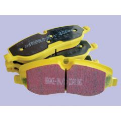 DA4844 - EBC Yellow Stuff Front Brake Pads - For Discovery 4, Range Rover L405 and Range Rover Sport 2010 Onwards - Relates to LR051626 (Non-Brembo)