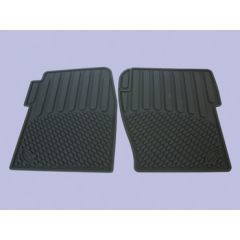 DA4424 - Discovery 2 Rubber Footwell Mat Set - Front In Black - By Autograph