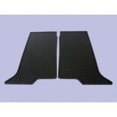 DA4425 - Discovery 2 Rubber Footwell Mat Set - Rear In Black - By Autograph