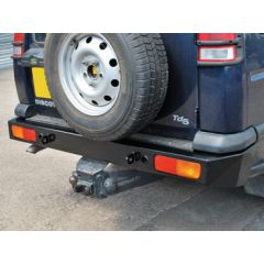 DA5646 - One Piece Heavy Duty Rear Bumper for Discovery 2 - 4mm Steel