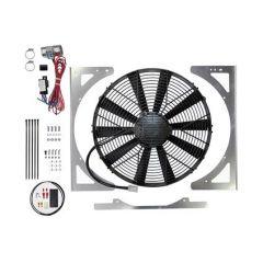 """DA8967 - Revotec Electrical Fan Conversion for Defender - High Power Suction Fan - Fits 200 & 300 TDI Defenders (15.2"""" Fan)"""