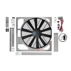 """DA8968 - Revotec Electrical Fan Conversion for Defender and Discovery - High Power Suction Fan - Fits Discovery and Defender TD5 (15.2"""" Fan)"""