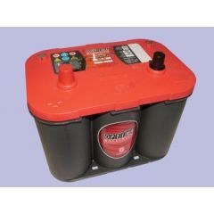 DB1019 - Heavy Duty Red Top Battery by Optima - With Terminals On Top