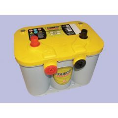 DB1020 - Heavy Duty Yellow Top Battery by Optima - With Terminals On Top and Side