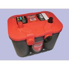 DB1021 - Heavy Duty Red Top Battery by Optima - With Terminals On Top and Side
