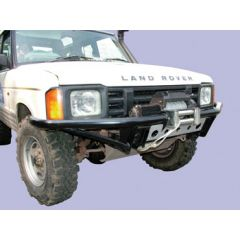DB1320 - Discovery 1 Tubular Bumper With DB12000I Winch and Steel Cable