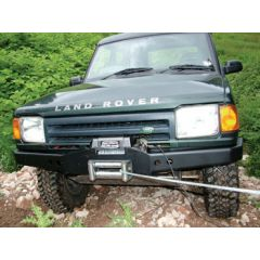 DB1325 - Discovery 1 / RR Classic Standard Bumper With DB12000I Winch and Steel Cable