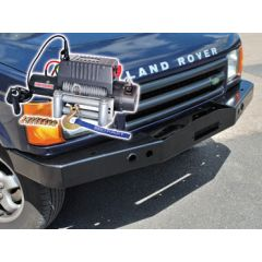 DB1346 - Discovery 2 Standard Bumper With DB12000I Winch and Steel Cable