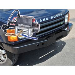 DB1347 - Discovery 2 Standard Bumper With DB9500I Winch and Steel Cable