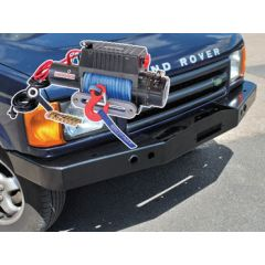DB1347R - Discovery 2 Standard Bumper With DB9500I Winch and Dyneema Rope