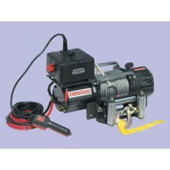 DB6000 - 12V 6,000Lbs - Britpart Pulling Power Winch - 2.7Kw Permanent Magnet Motor
