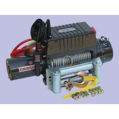 DB9500I - 12V 9,500Lbs - Britpart Pulling Power Winch - 3.6Kw Heavy Duty Series Wound Dc Motor