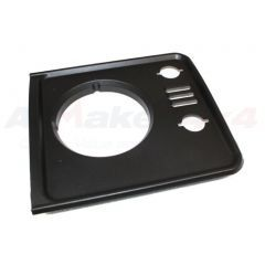 DHH100790PUC - Defender Headlight Surround In Black - Left Hand - from 1998 Onwards
