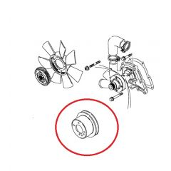 ETC4785 - Pulley for Water Pump on Turbo Diesel Defender (CLEARANCE - Last One) - Image for Illustration