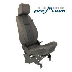 EXT010-3LH - Premium High Back Second Row Seat - Left Hand Seat for Defender - By Exmoor Trim - Available In Multiple Trim Options