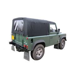 EXT201 - Full Stayfast Hood for Land Rover Defender 90 up to 1998 - By Exmoor Trim - Comes in Multiple Trim Options