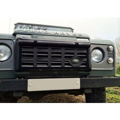 EXT244-1 - Black Radiator Muff for Land Rover Defender by Exmoor Trim