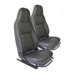 EXT307-PREM - Premium Front Seat as Fitted to Defender 2013 Onwards - Comes as Front Pair - Choice of Trims Available - Will Fit All Land Rover Defenders