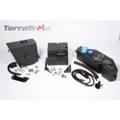 FTLD013 - Defender 90 Extra Fuel Tank - 40 Ltr  - Mounted Including Transfer Pump - For TD5 and Puma