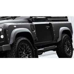 PKDEFENDERBODYKIT - Kahn Design - Defender 90 Front and Rear Wide Wing Panels with Integrated Vents and Bolt Apertures