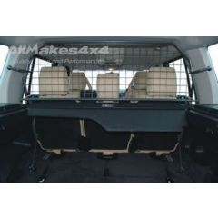 DA5511 - Mesh Style Dog Guard In Grey (Half Length) - For Discovery 3 and Discovery 4 - Manufactured by OEM Manufacturer Travall
