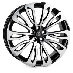 HALCYON-BP - Hawke Halcyon Alloy Wheel in Black with Polished Face