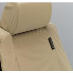 HAL500060SUN - Waterproof Front Seat Covers in Sand for Premium Range Rover L322 from 2007