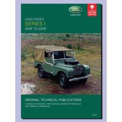 LHP19 - Technical Publication On CD - Series 1 Land Rover 48-58