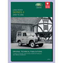 LHP20 - Technical Publication On CD - Series 2 Land Rover 58-61