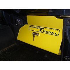 LR-SAFE - SAFE T PEDAL - Land Rover Defender Mechanical Security Device - Fitment to RHD Land Rover Defender 1983-2006