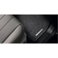 VPLFS0246PVJ - Freelander 2 Premium Carpet Set With Rubber Backing In Ebony Black