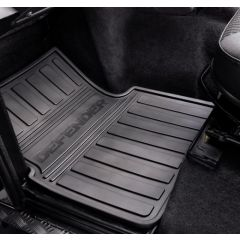 VPLDS0147 - Defender Front Rubber Mat Set - Genuine Land Rover (FOR VEHICLES FROM 2012)