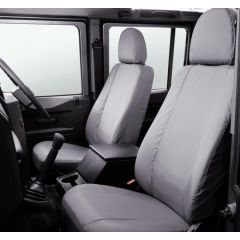 LR005128 - Defender Front Seat Covers in Grey - 2007 Onwards - Genuine Land Rover Item