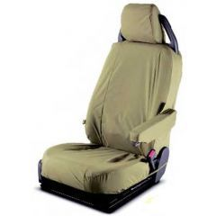 LR005220 - Discovery 3 Second Row Seat Covers in Sand - Genuine Land Rover (65/35 Split)