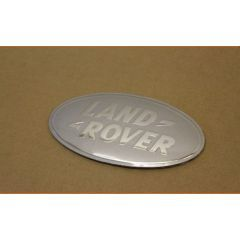 LR008976 - Front Grille Badge in Chrome and Silver - Fits SVX Grille on Defender and DISCOVERY 4