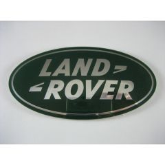 LR023296 - Front Grille Badge in Green - Genuine Land Rover - Fits SVX Grille on Defender and DISCOVERY 4